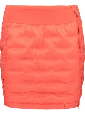 Ciepła czerwona spódnica materiałowa Kilpi
