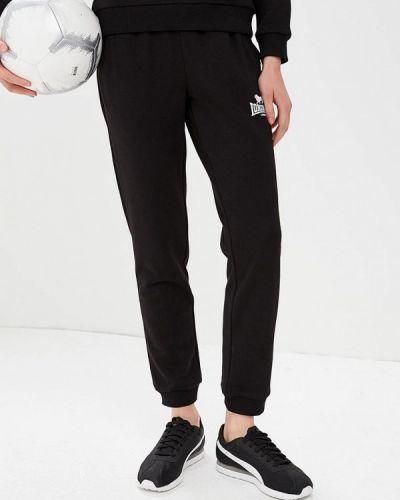 Спортивные брюки черные Lonsdale