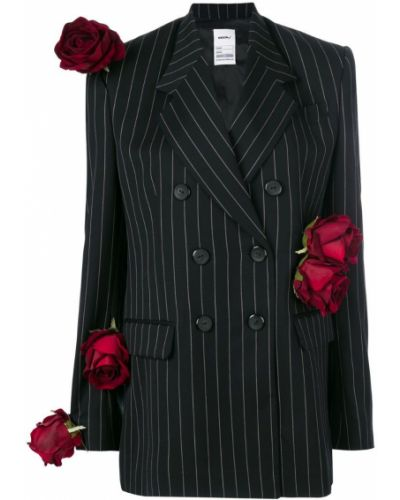 Двубортный пиджак в полоску классический Seen?