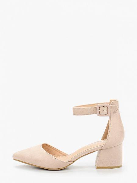 Замшевые туфли бежевый Chiara Foscari