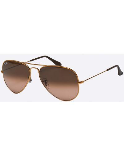 Солнцезащитные очки металлические стеклянные Ray-ban