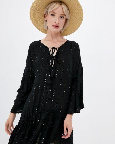 Черное весеннее платье Pilyq