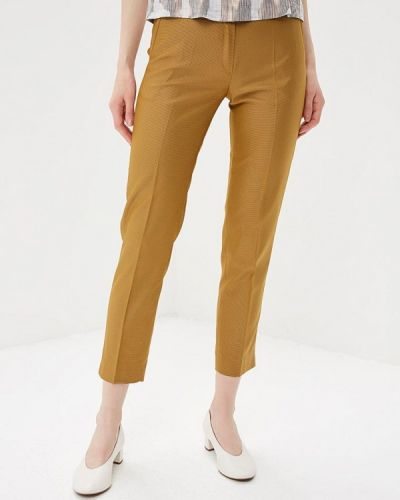 Коричневые классические брюки Vladi Collection