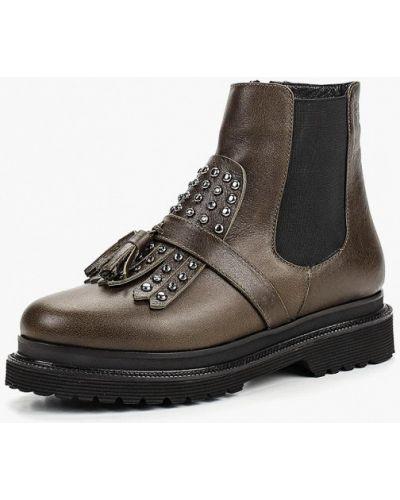 Кожаные ботинки зеленый Ilvi