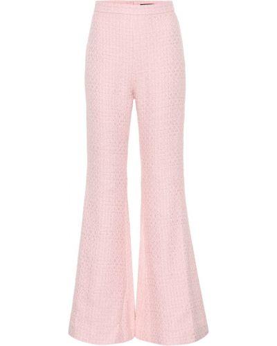 Свободные брюки расклешенные брюки-хулиганы Balmain