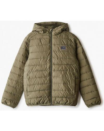 Зеленая теплая куртка Quiksilver