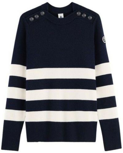 Czarny sweter Petit Bateau