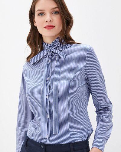 Блузка с длинным рукавом итальянский синяя Miss Miss By Valentina