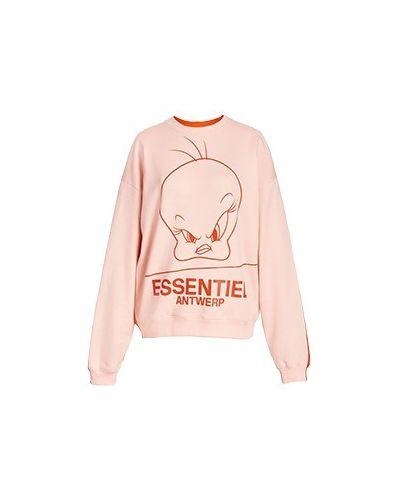 Розовый хлопковый свитшот Essentiel