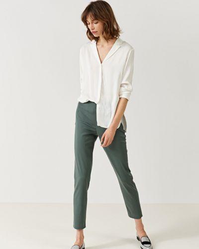 Прямые брюки с воротником Simple
