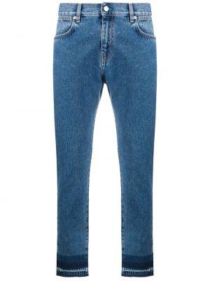 Klasyczne niebieskie jeansy bawełniane Mcq Alexander Mcqueen