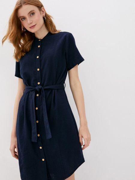 Синее платье Jacqueline De Yong
