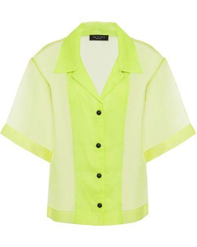 Koszula - zielona Rag & Bone