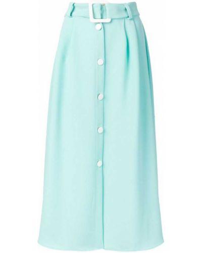 Синяя юбка с поясом Edeline Lee