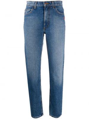 Прямые джинсы с высокой посадкой на молнии Marc Jacobs