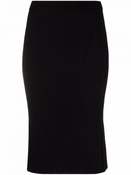 Czarna spódnica ołówkowa wełniana Dvf Diane Von Furstenberg