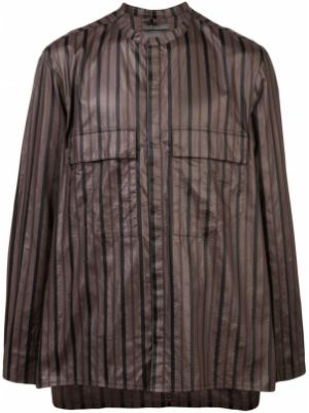 Свободная рубашка с воротником на пуговицах Siki Im