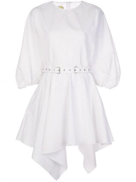 Платье с поясом с вырезом Marques'almeida