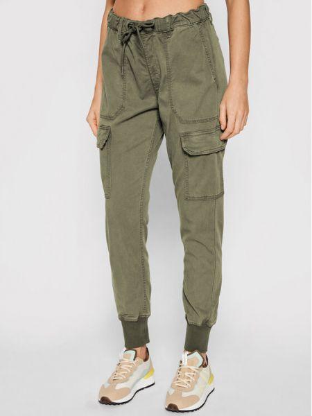Joggery - zielone Pepe Jeans