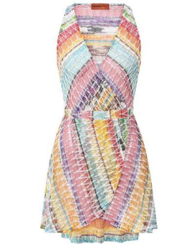 Платье из вискозы хлопковое Missoni