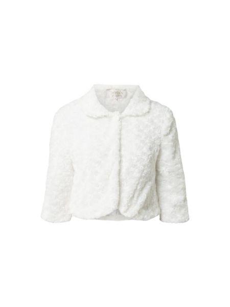 Biały futro Troyden Collection