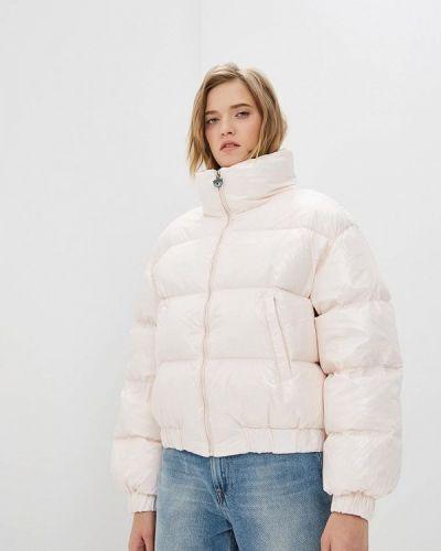 Зимняя куртка осенняя розовая Chiara Ferragni Collection