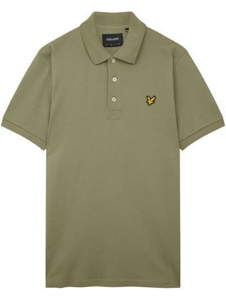 T-shirt krótki rękaw - zielona Lyle & Scott