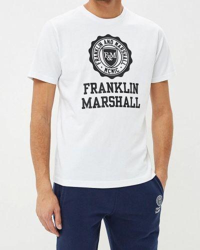 Футболка - белая Franklin & Marshall
