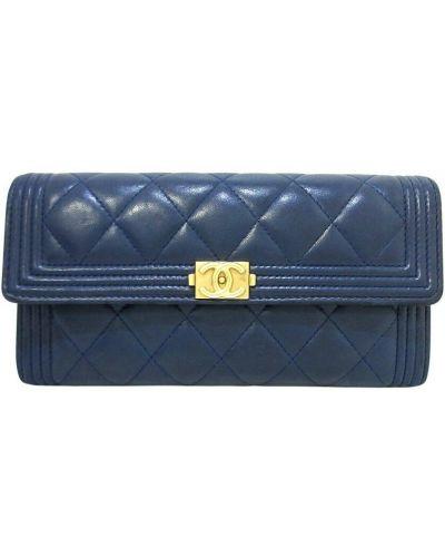 Niebieska torebka Chanel Vintage