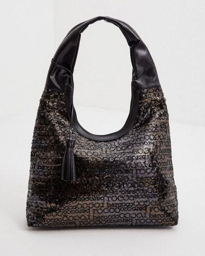 Черная сумка с ручками Roccobarocco