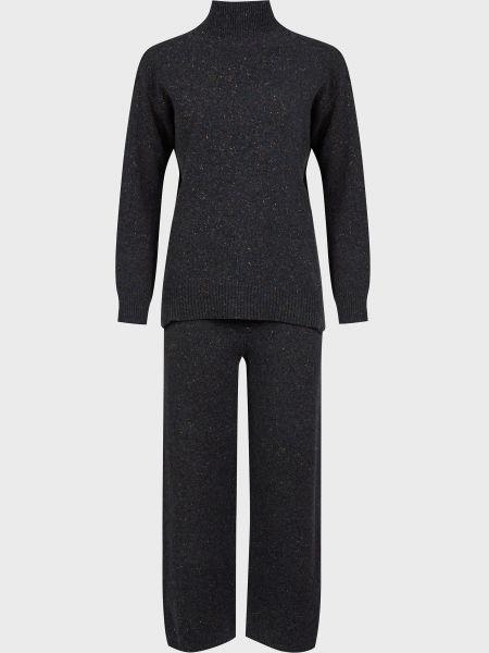 Шерстяной костюм - черный Vicolo