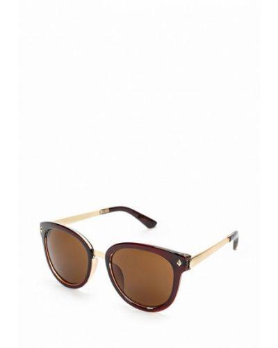 Коричневые солнцезащитные очки Kawaii Factory