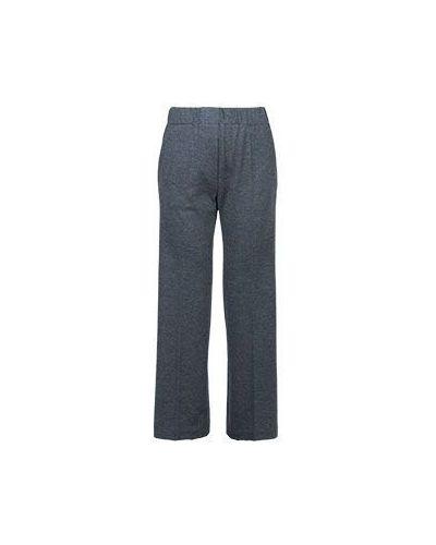 Шерстяные брюки - серые Fedeli