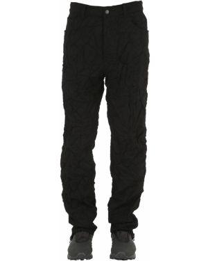Czarne jeansy z wiskozy Facetasm