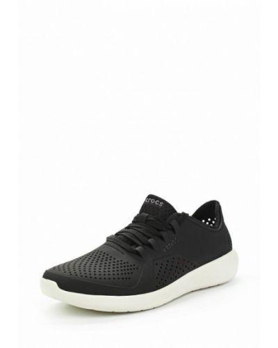 Черные кроссовки Crocs