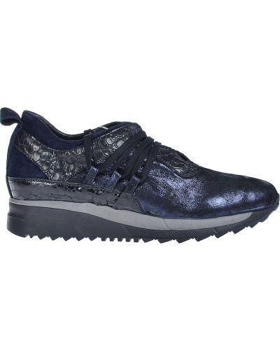 Кожаные кроссовки - синие Laura Bellariva