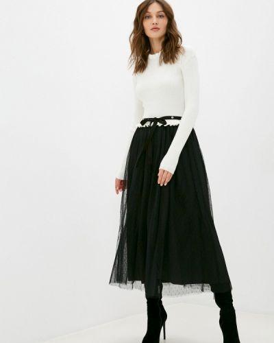Вязаное белое платье Silvian Heach