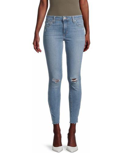 Синие зауженные джинсы-скинни с карманами Joe's Jeans