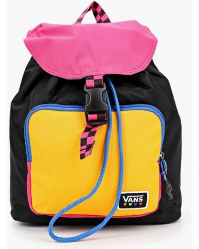 Нейлоновый черный рюкзак Vans