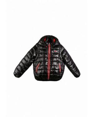 Теплая черная куртка Kat