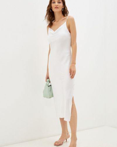 Белое платье-комбинация Imocean