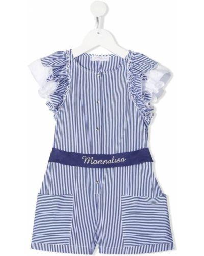 Niebieski garnitur Monnalisa