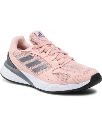 Sneakersy - różowe Adidas