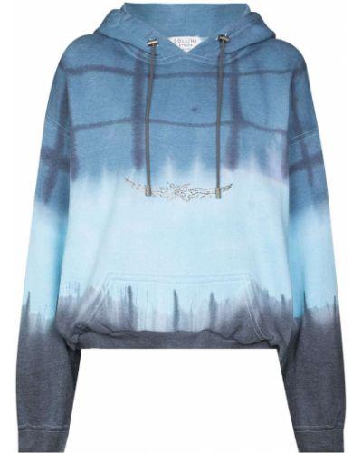 Bluza z nadrukiem z printem - niebieska Collina Strada