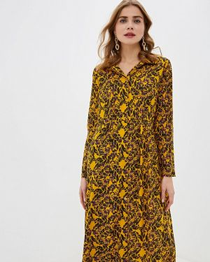 Желтое платье Blendshe
