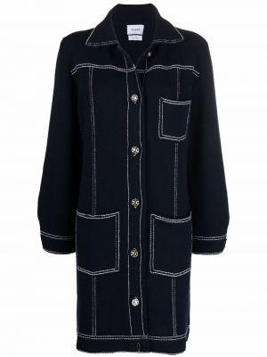 Niebieski klasyczny płaszcz Barrie