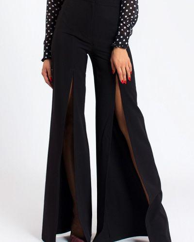 Черные классические брюки с карманами Milalux