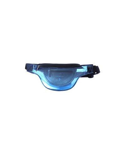 Ремень прозрачный темно-синий Calzetti