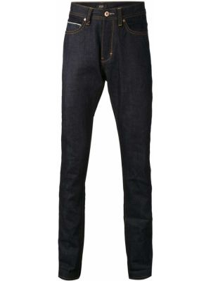 Mom jeans z niskim stanem - niebieskie Neuw