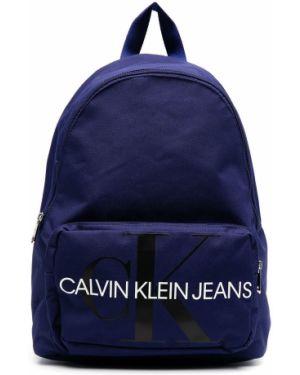Рюкзак с заплатками Calvin Klein Kids